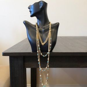 Jessica Simpson Gold Layered Necklace